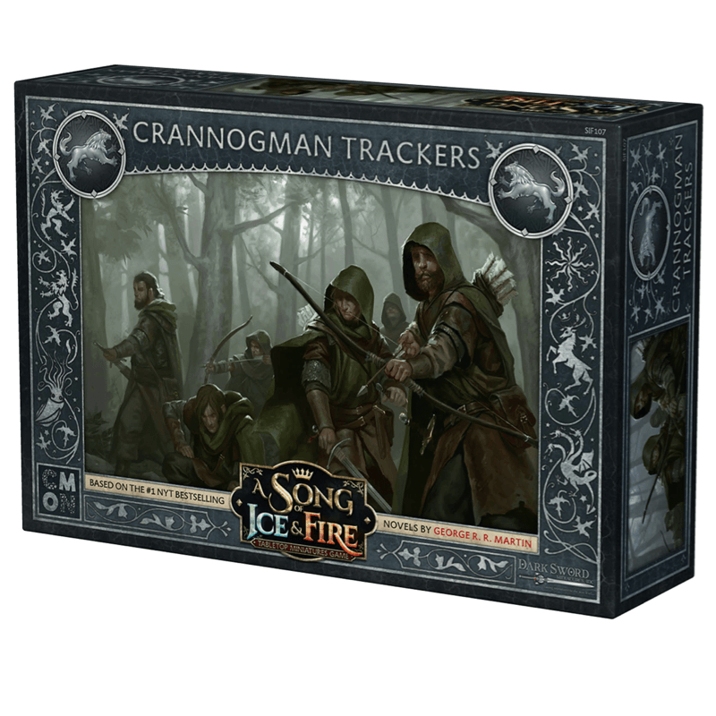 A Song of Ice & Fire: Tabletop Miniatures Game – Crannogman Trackers Unit (PRE-ORDER)