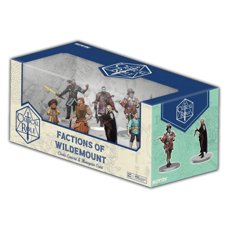 Critical Role: Factions of Wildemount - Clovis Concord & Menagerie Coast Box Set (PRE-ORDER)