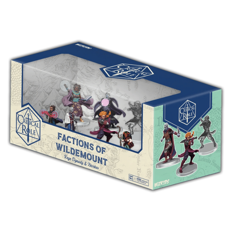 Critical Role: Factions of Wildemount - Kryn Dynasty & Xhorhas Box Set (PRE-ORDER)