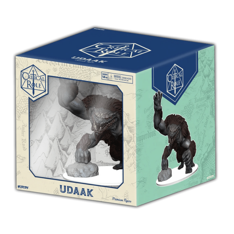 Critical Role: Monsters of Wildemount - Udaak Premium Figure (PRE-ORDER)