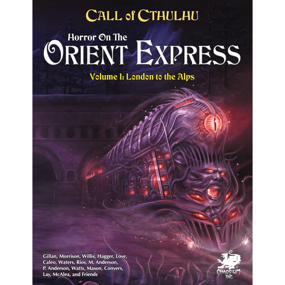 Call of Cthulhu: Horror on the Orient Express (PRE-ORDER)