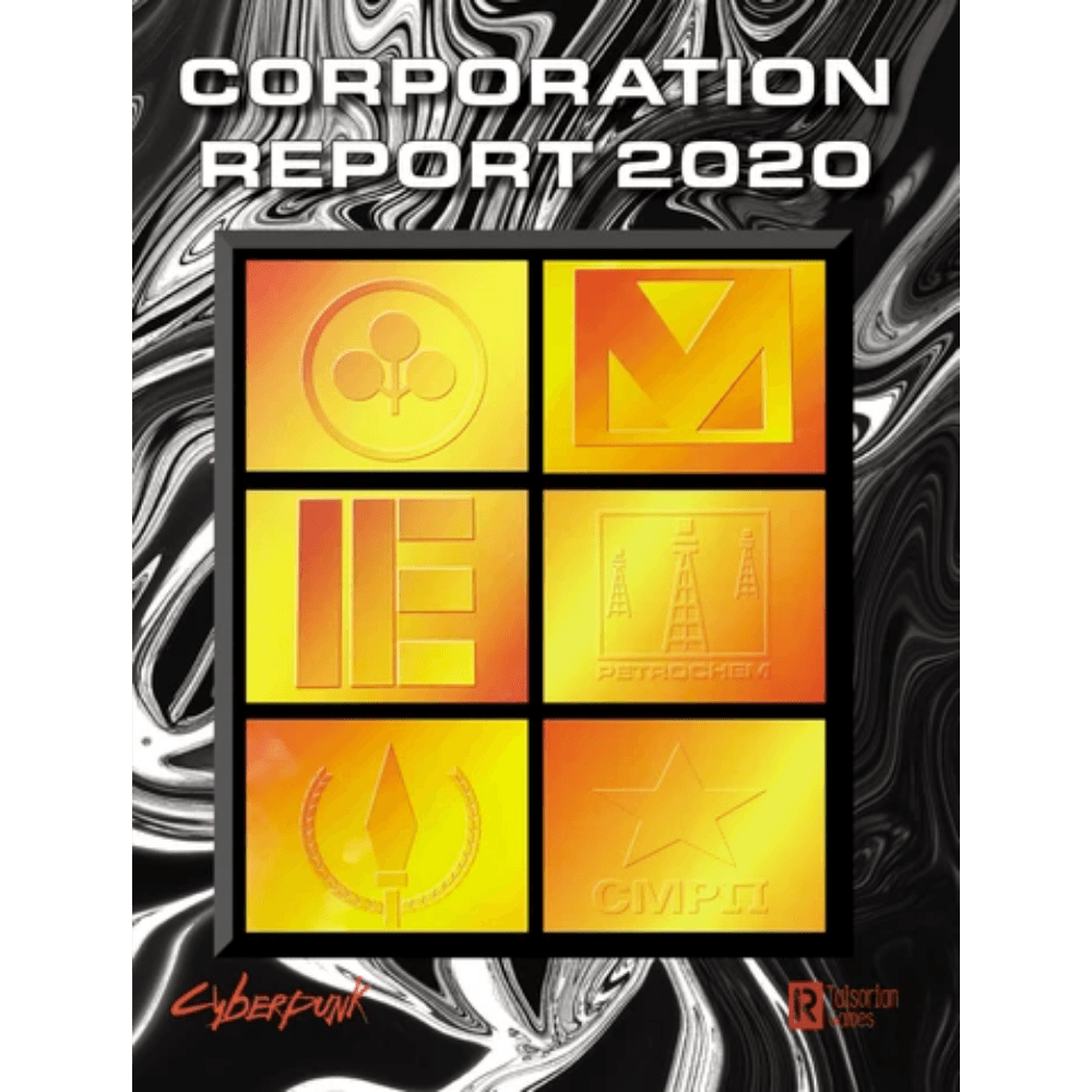 Cyberpunk 2020 RPG: Corporation Report 2020 (PRE-ORDER)