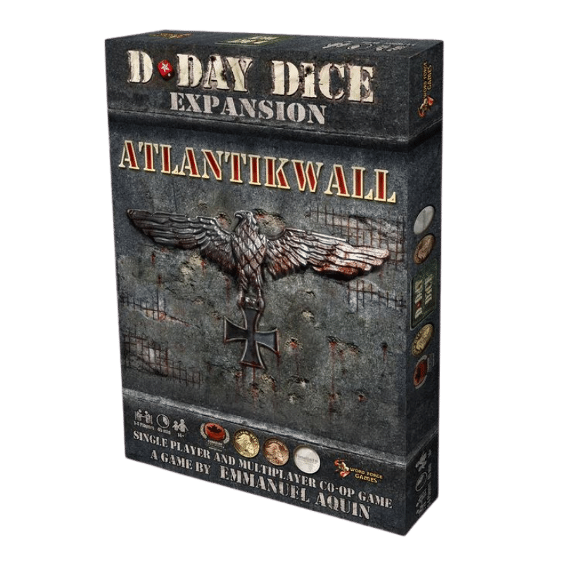 Atlantikwall: D-Day Dice 2nd Edition -  Word Forge