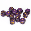 Chessex: Speckled D6 16mm Dice Set - Hurricane