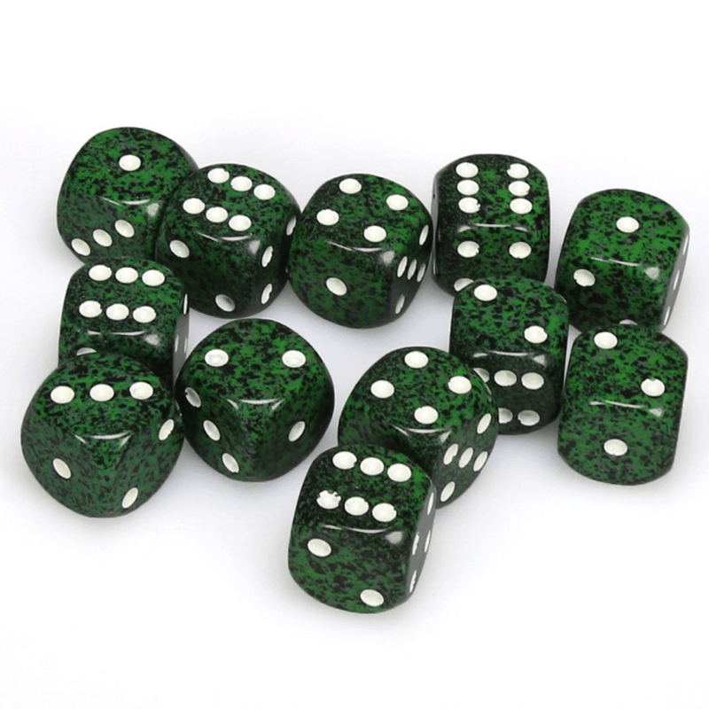 Chessex: Speckled D6 16mm Dice Set - Recon