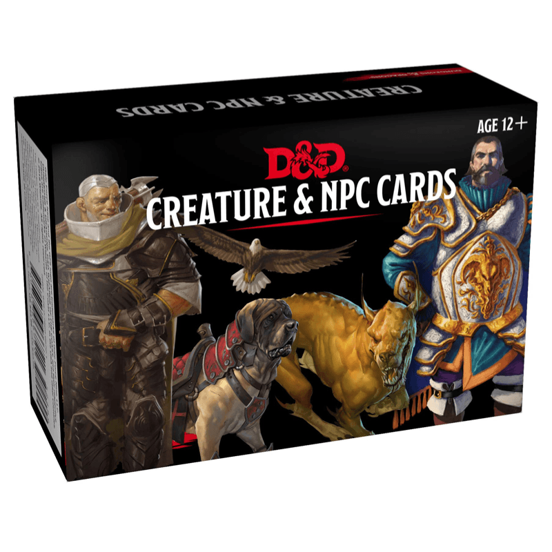 Dungeons & Dragons (5th Edition): Creature & NPC Cards