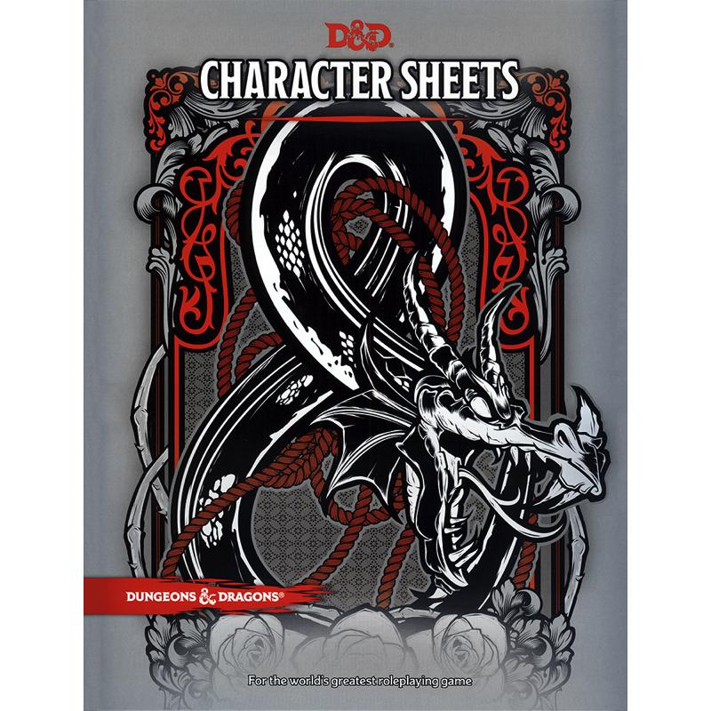 Dungeons & Dragons (5th Edition): Character Sheets
