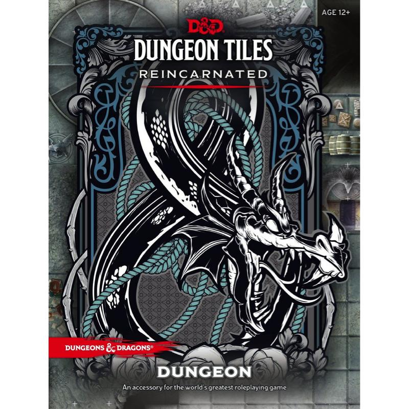 Dungeons & Dragons (5th Edition): Dungeon Tiles Reincarnated - Dungeon
