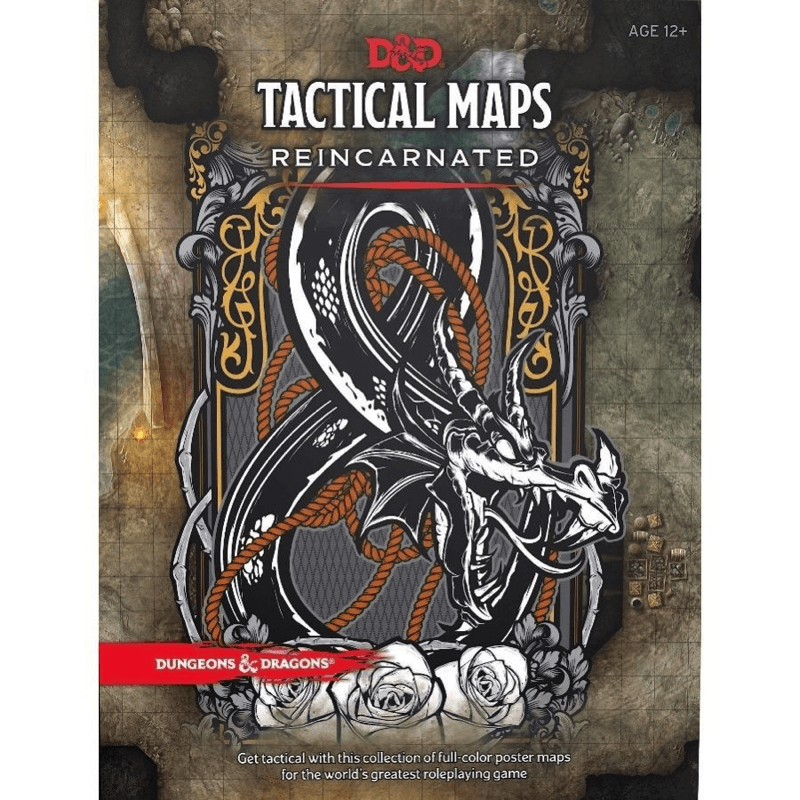 Dungeons & Dragons (5th Edition): Tactical Maps Reincarnated (PRE-ORDER)