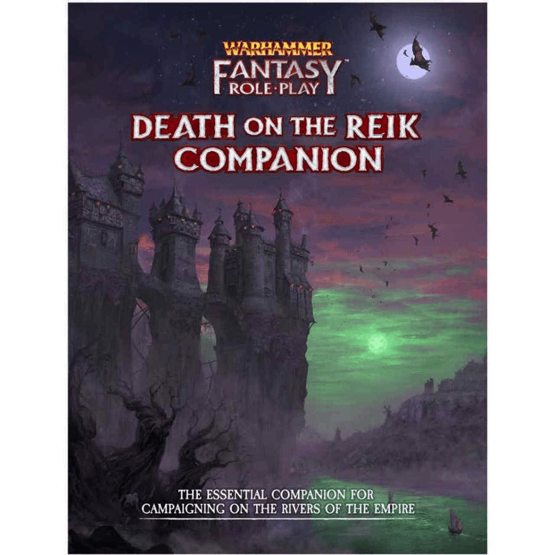 Warhammer Fantasy Roleplay (4th Edition): Death On The Reik Companion (PRE-ORDER)