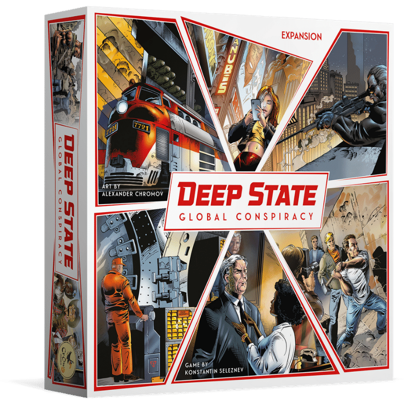 Deep State: Global Conspiracy (PRE-ORDER)