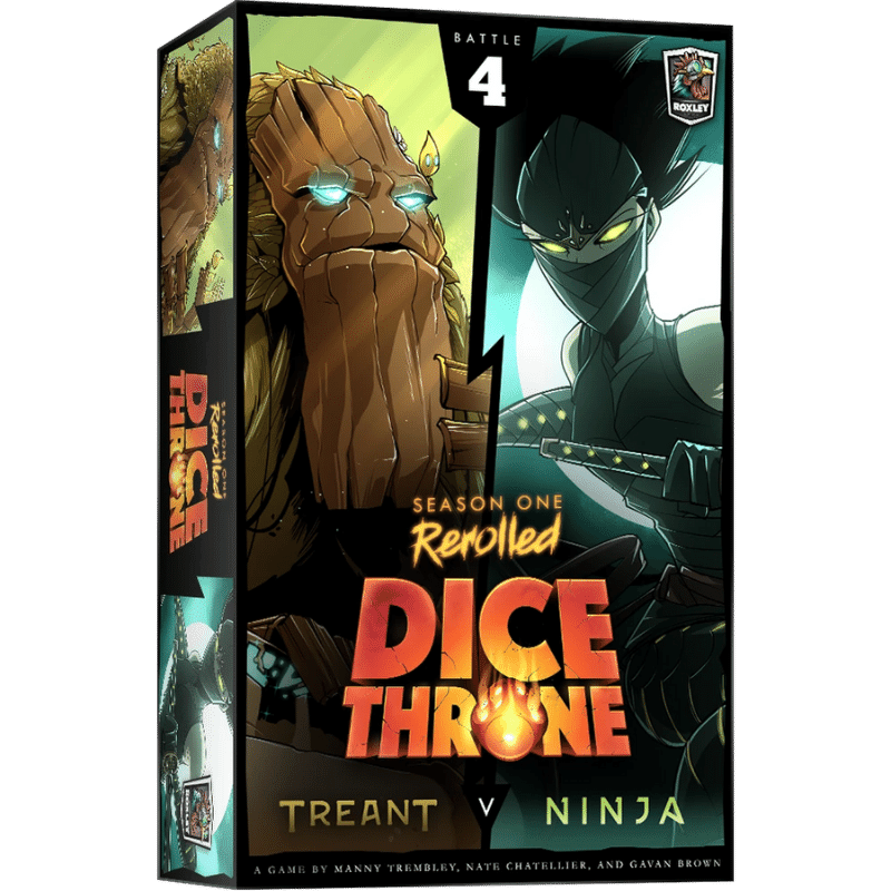 Dice Throne: Season One Rerolled - Treant vs Ninja (PRE-ORDER)