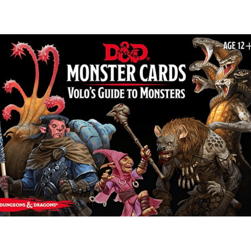Dungeons & Dragons (5th Edition): Monster Cards - Volo's Guide to Monsters