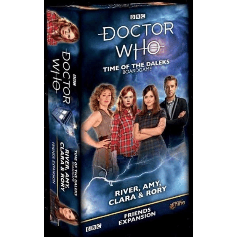Doctor Who: Time of the Daleks – River, Amy, Clara & Rory