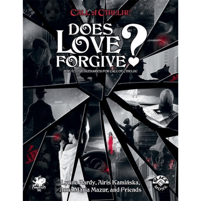 Call of Cthulhu (7th Edition): Does Love Forgive? (PRE-ORDER)