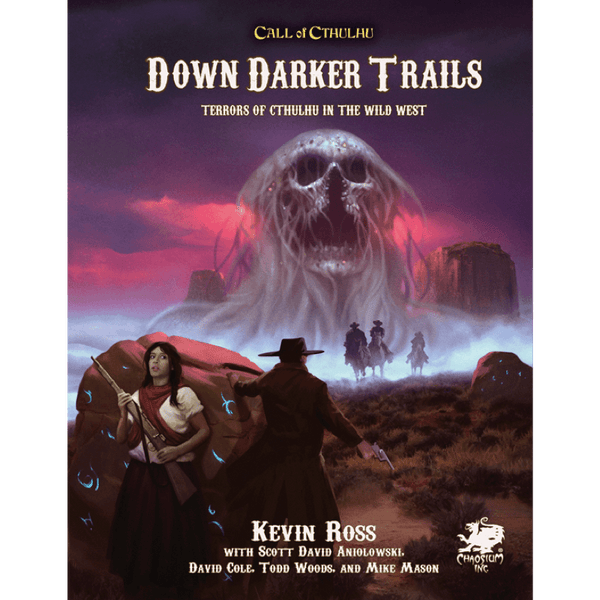 Call Of Cthulhu 7th Edition Down Darker Trails Terrors Of Cthulhu Thirsty Meeples