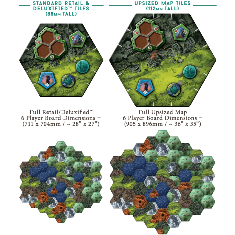 Downfall: Upsized Map Tiles