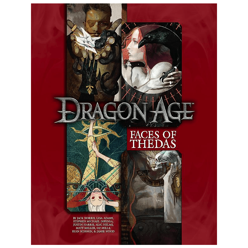 Dragon Age RPG: Faces of Thedas