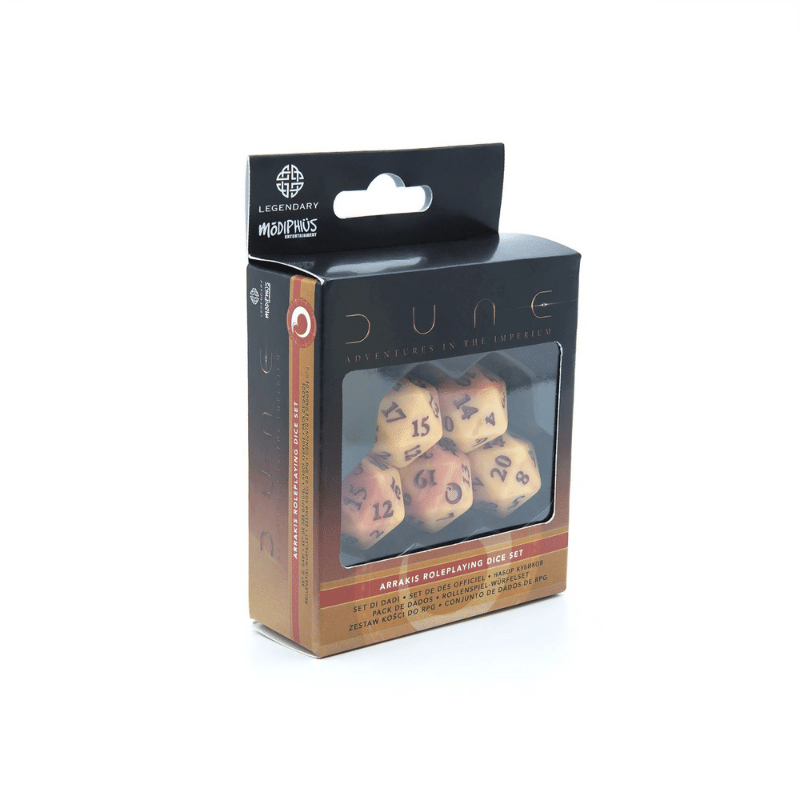 Dune - Adventures in the Imperium RPG: Arrakis Dice Set (PRE-ORDER)