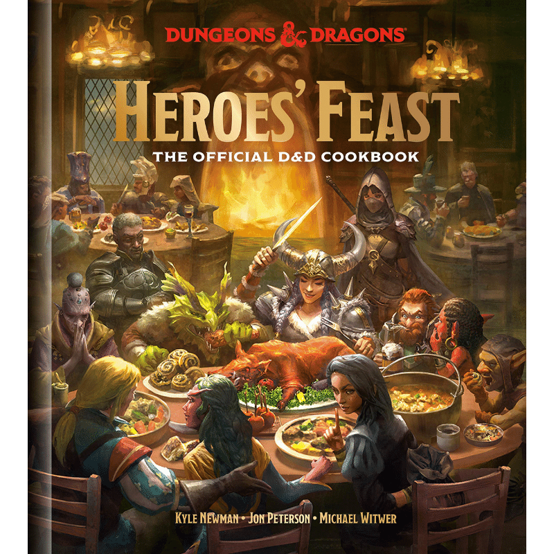 Dungeons & Dragons: Heroes' Feast - The Official D&D Cookbook