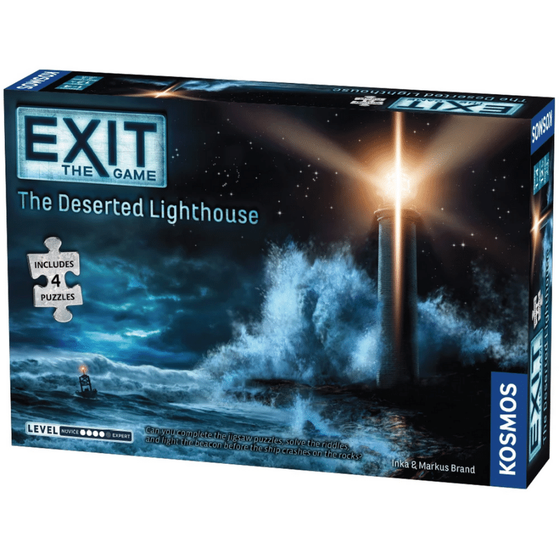 EXIT: The Deserted Lighthouse (with Jigsaw Puzzles)