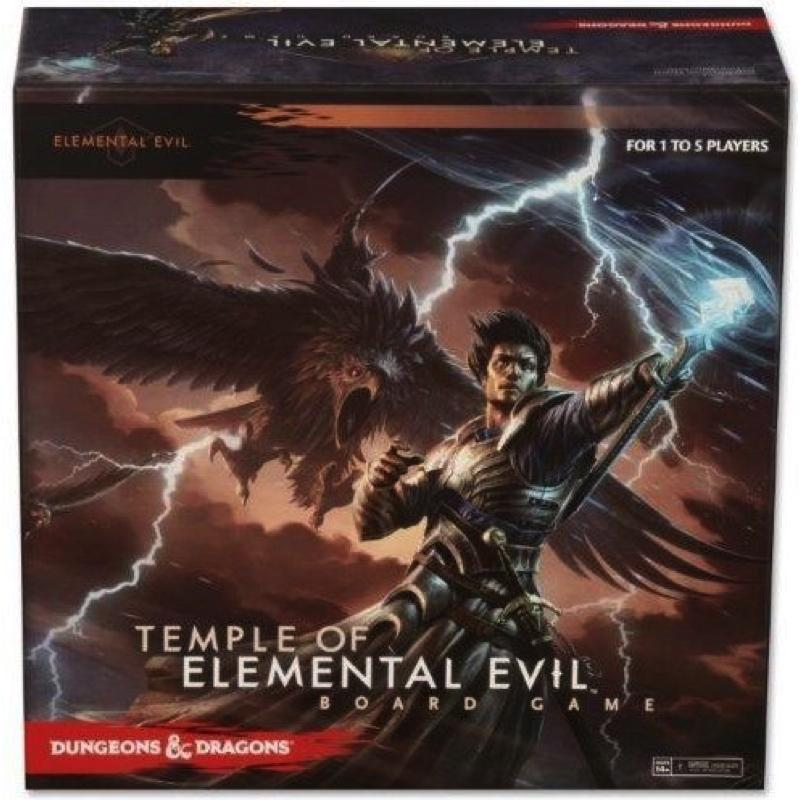 Dungeons & Dragons: Temple of Elemental Evil Board Game