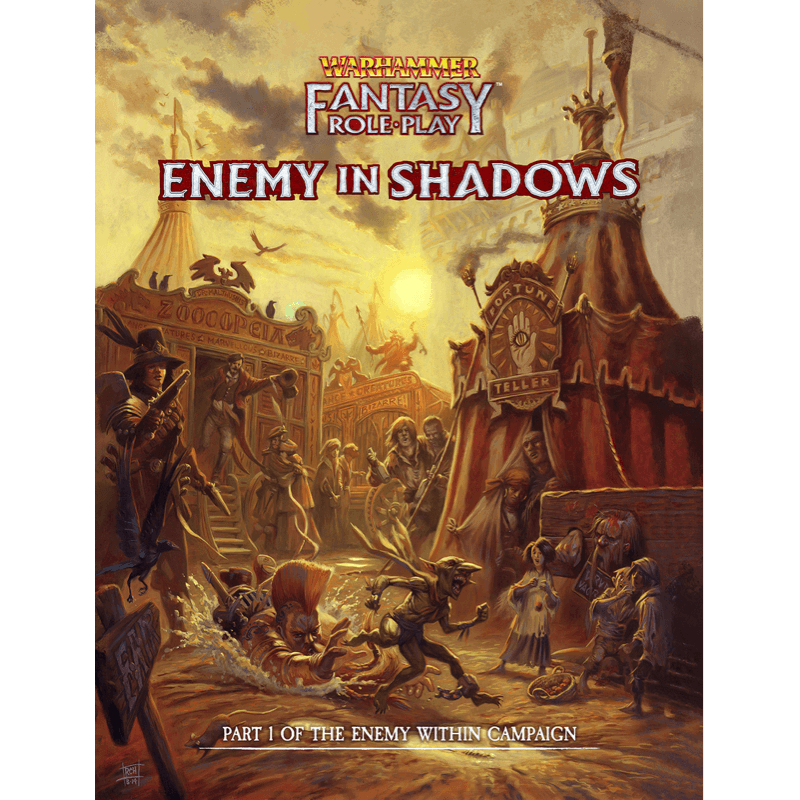 Warhammer Fantasy Roleplay (4th Edition): Enemy In Shadows - The Enemy Within Campaign Part 1