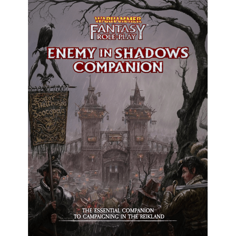 Warhammer Fantasy Roleplay (4th Edition): Enemy In Shadows Companion (PRE-ORDER)