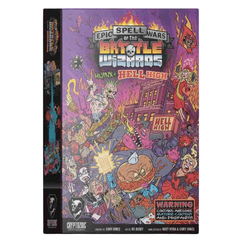 Epic Spell Wars of the Battle Wizards: Hijinx at Hell High (PRE-ORDER)