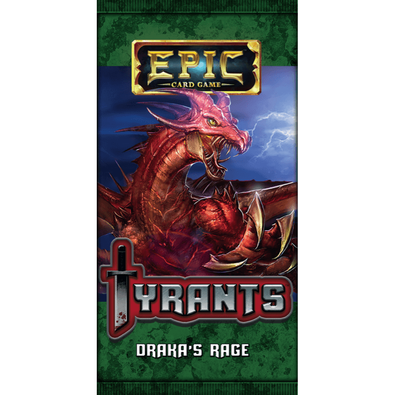 Epic Card Game: Tyrants – Draka's Rage Pack
