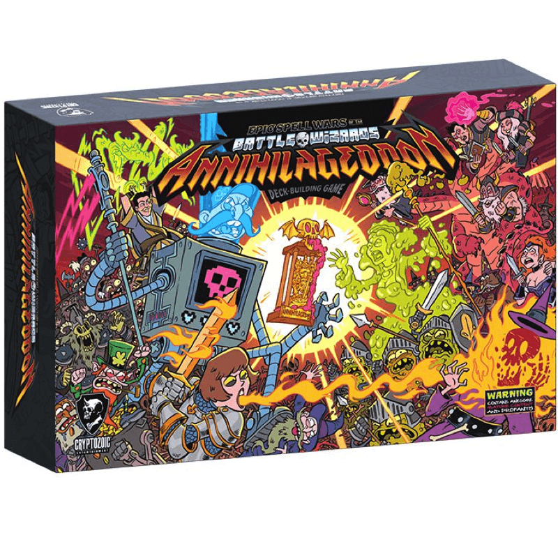 Epic Spell Wars of the Battle Wizards: ANNIHILAGEDDON! – The Deck-Building Game (PRE-ORDER)