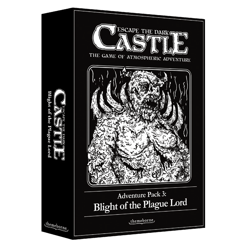 Escape the Dark Castle: Adventure Pack 3 – Blight of the Plague Lord (PRE-ORDER)