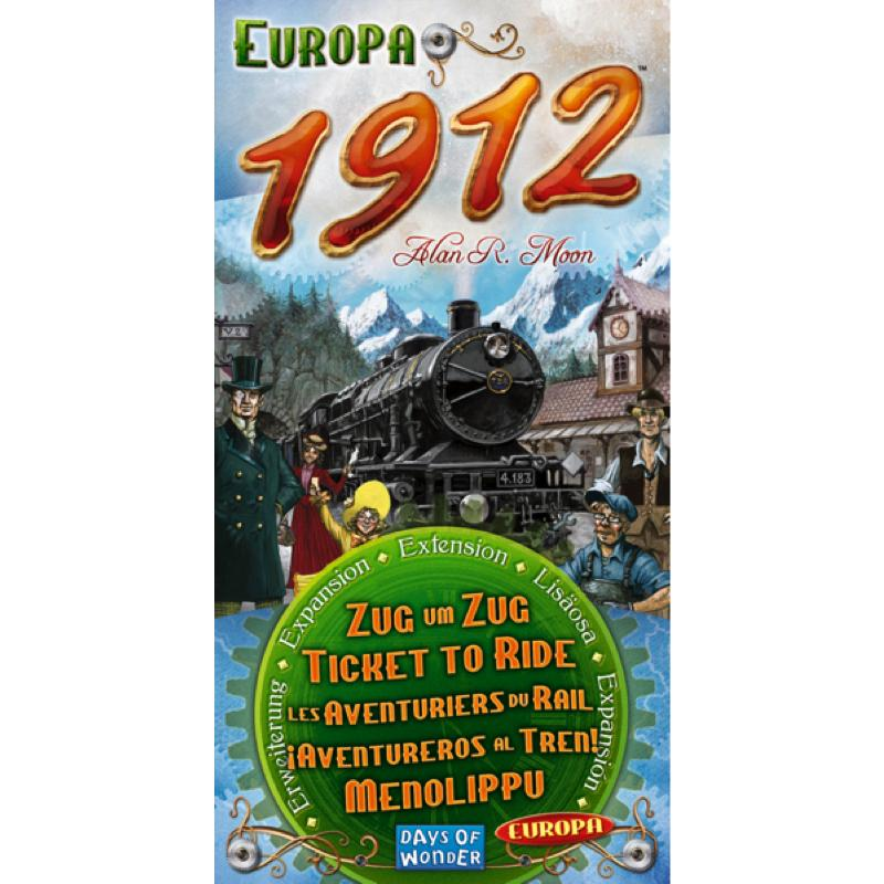 Ticket to Ride: Europa 1912 - Thirsty Meeples