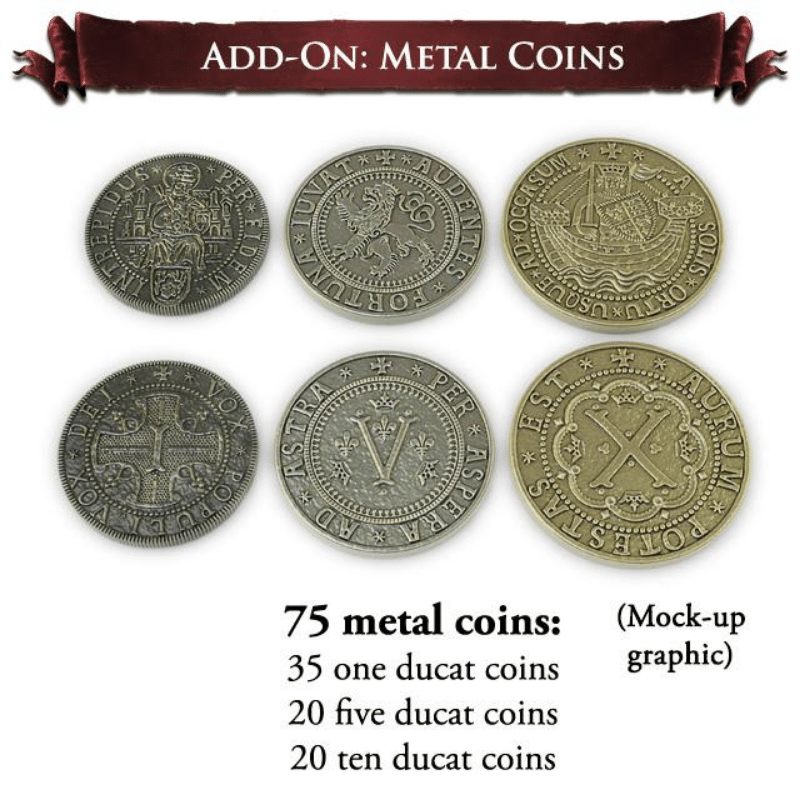 Europa Universalis: Metal Coins (PRE-ORDER)