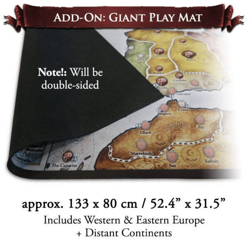 Europa Universalis: Giant Play Mat (PRE-ORDER)