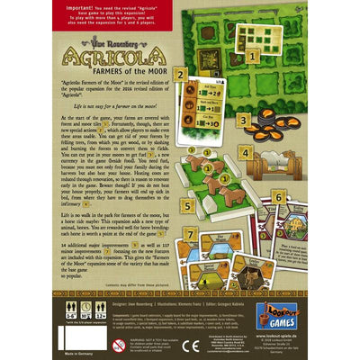 Agricola: Farmers of the Moor - Thirsty Meeples