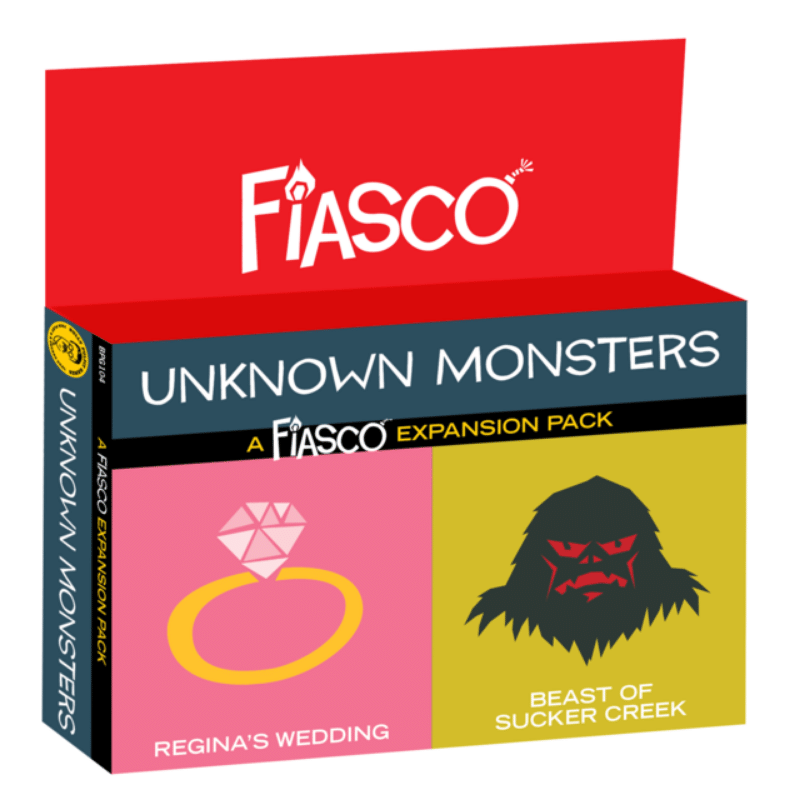 Fiasco RPG: Unknown Monsters