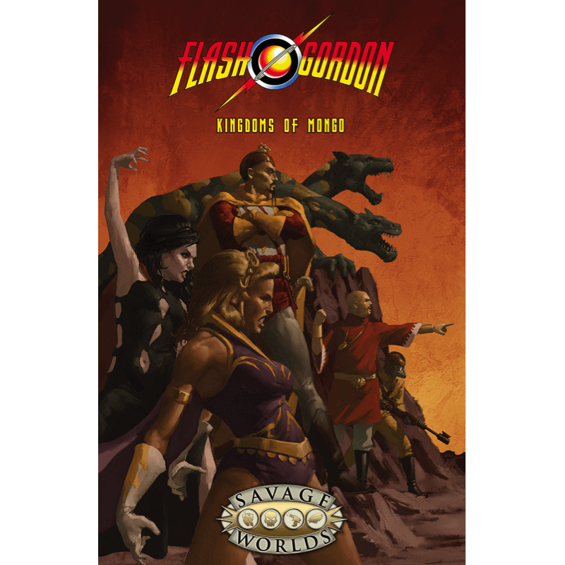 Flash Gordon RPG: Kingdoms of Mongo (Hardcover)