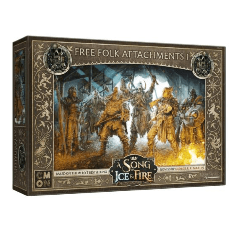 A Song of Ice & Fire: Tabletop Miniatures Game – Free Folk Attachments