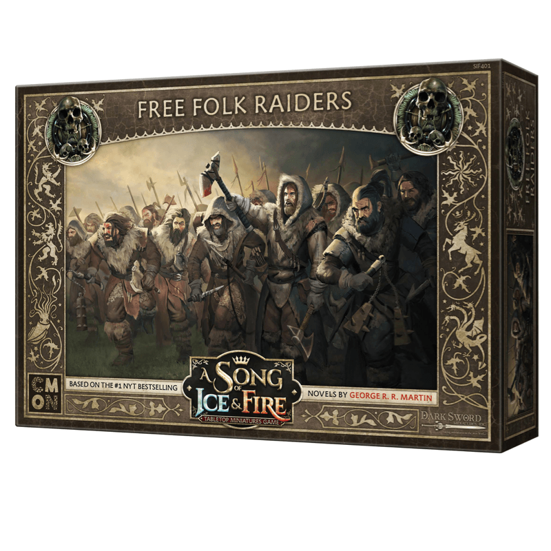 A Song of Ice & Fire: Tabletop Miniatures Game – Free Folk Raiders Unit