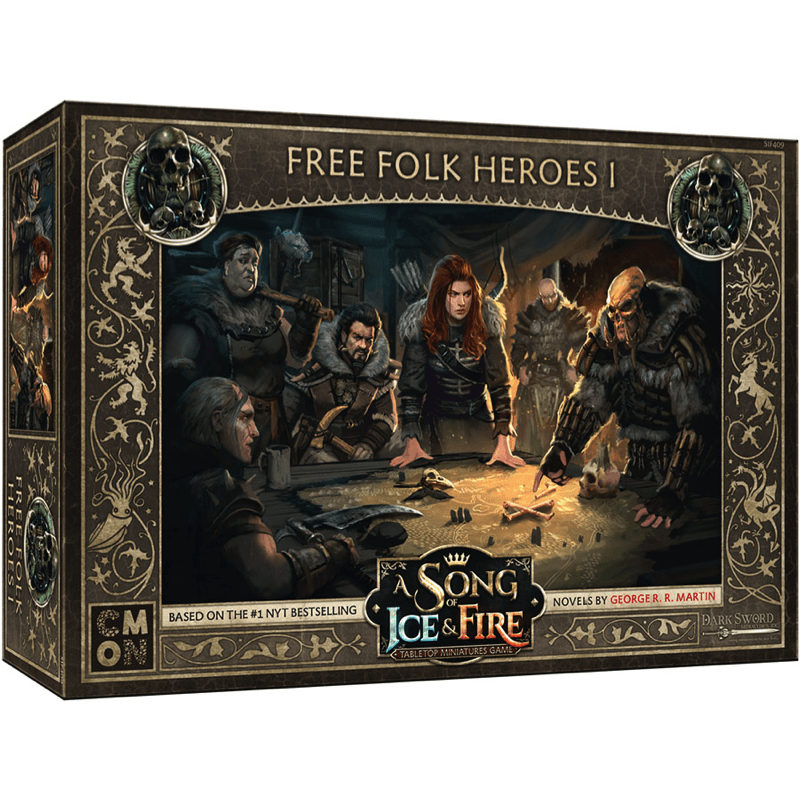 A Song of Ice & Fire: Tabletop Miniatures Game – Free Folk Heroes #1