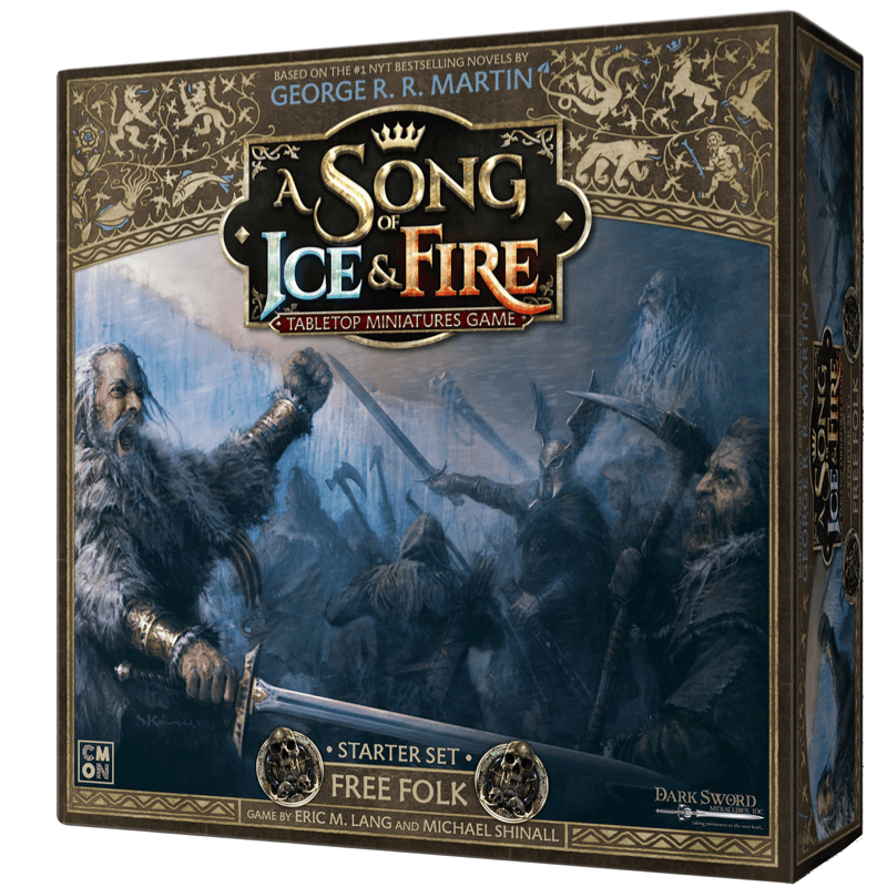 A Song of Ice & Fire: Tabletop Miniatures Game – Free Folk Starter Set (PRE-ORDER)
