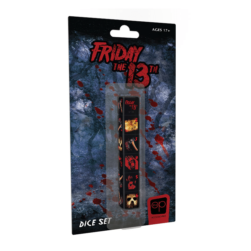 Friday the 13th Dice Set (PRE-ORDER)