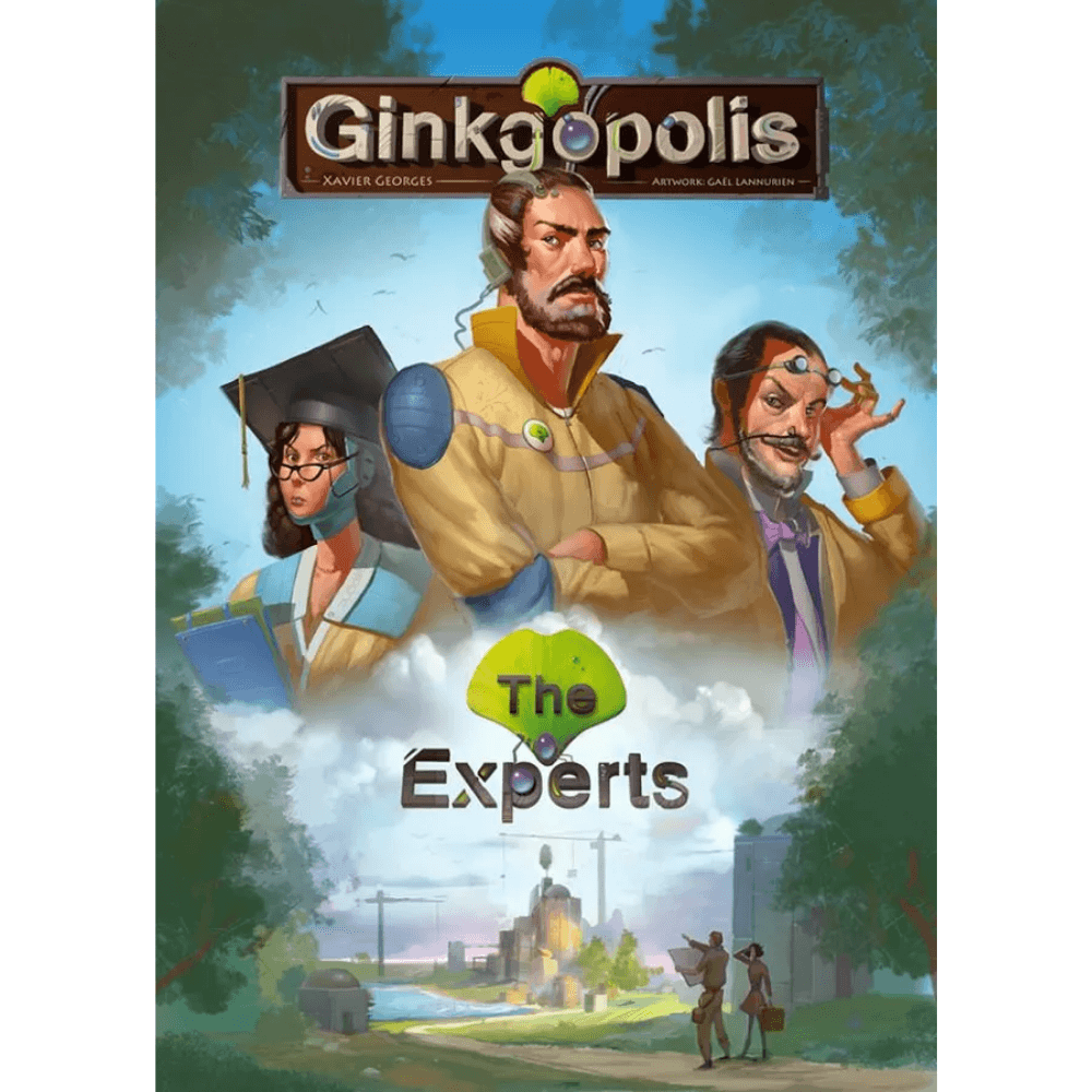 Ginkgopolis: The Experts (PRE-ORDER)