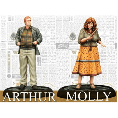 Harry Potter Miniatures Adventure Game: Molly & Arthur