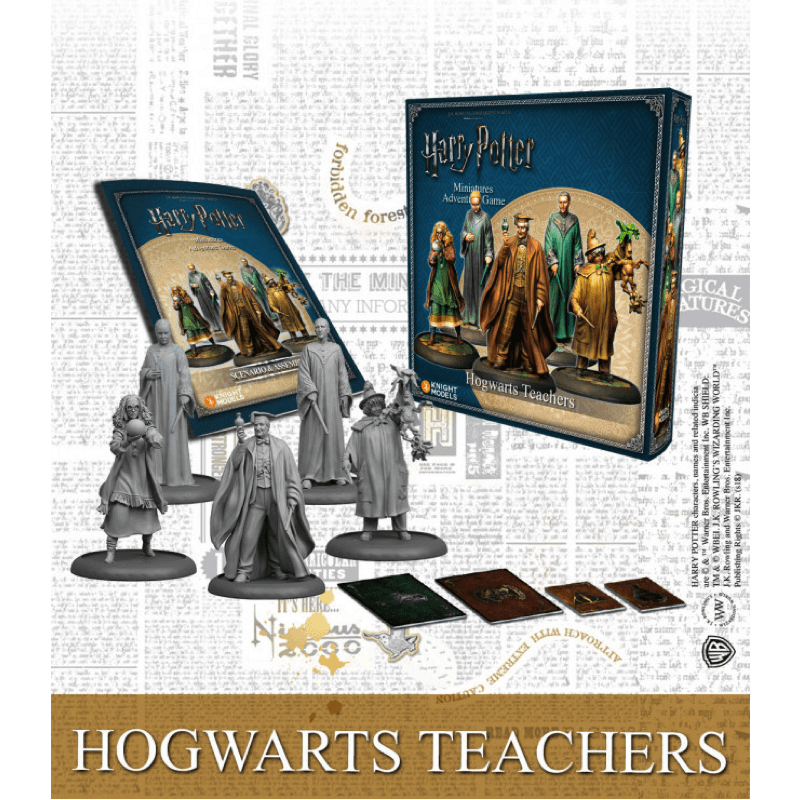 Harry Potter Miniatures Adventure Game: Hogwarts Teachers (PRE-ORDER)