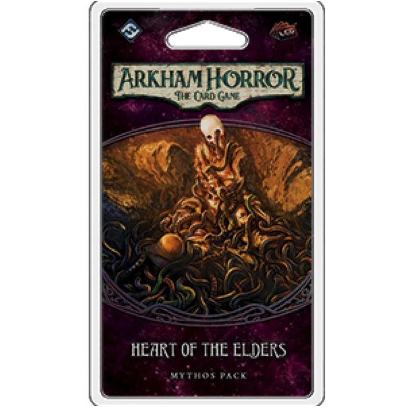 Arkham Horror: The Card Game – Heart of the Elders Mythos Pack