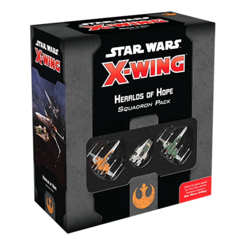 Star Wars: X-Wing (Second Edition) – Heralds of Hope Squadron Pack (PRE-ORDER)