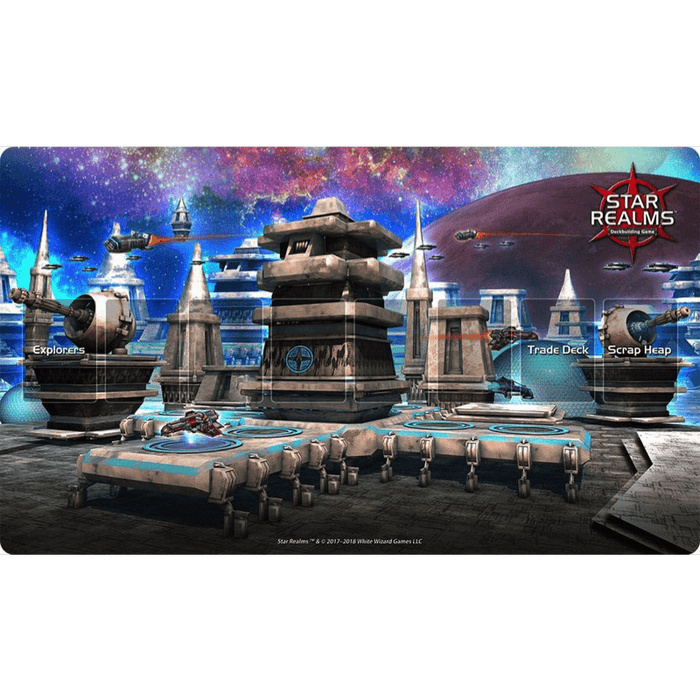 Star Realms: Ion Station Playmat