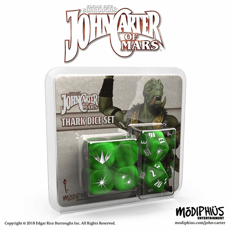 John Carter of Mars RPG: Thark Dice Set